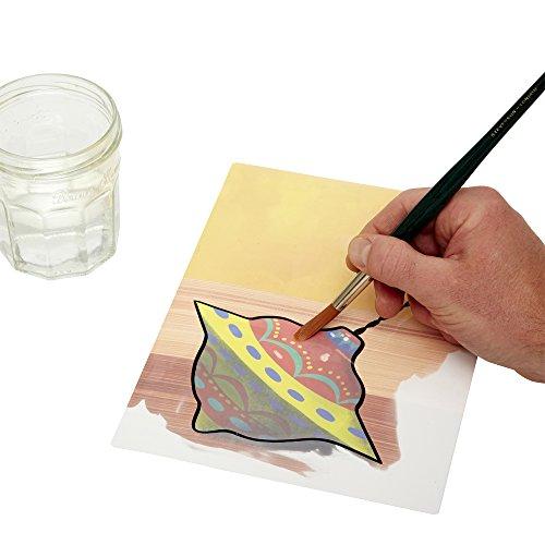Active Minds En Casa Aquapaint: Pintura de Agua Reutilizable / Actividad artística para Personas ancianas con Demencia / Alzheimer's