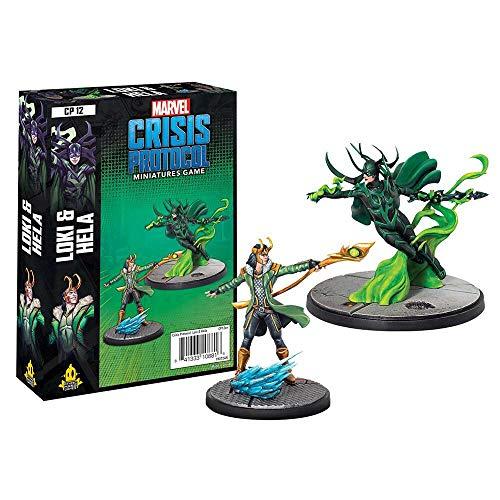 Amode Marvel Crisis Protocol: Loki and Hela Character Pack