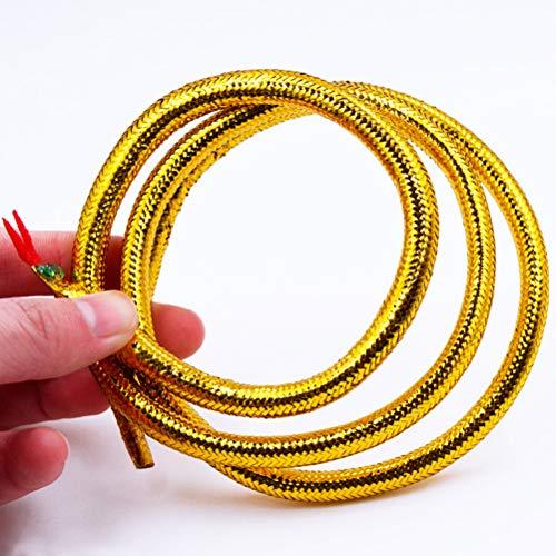 Amosfun 2 unids Egipcio Oro Serpiente Cleopatra Diadema Brazalete Pulsera Brazalete Partido Disfraces favores