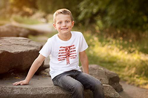 AR+ Body Planet Camiseta Realidad Aumentada educativa (4-6 años)