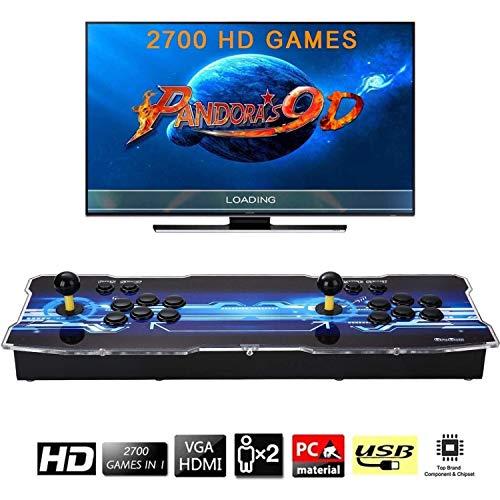 [Arcade Game Console 2700] Pandora Box 9D 2700 Juegos Retro Consola maquina recreativa Arcade Video Gamepad VGA/HDMI/USB