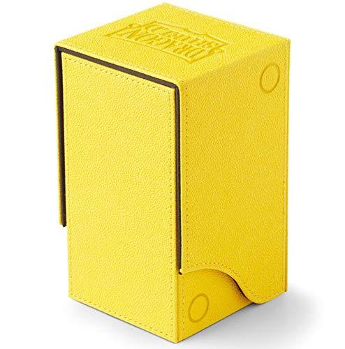 Arcane Tinmen- Dragon Shield: Nest Box + Dice Tray - Yellow/Black, Color incoloro (AT-40211)