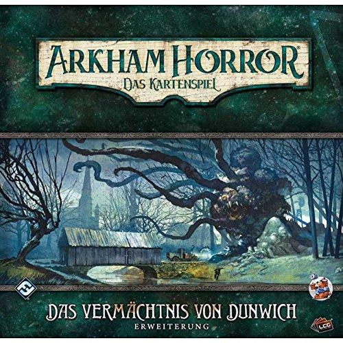 Arkham Horror - Juego De Cartas LCG - El Legado de Dunwich Alemán Large expansión-1