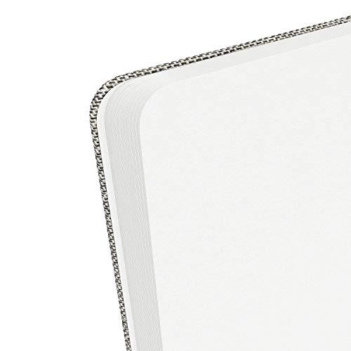 Arteza Libreta de bolsillo con papel acuarela, 14 x 9 cm, con 80 hojas, papel de 230 gsm, libreta con 2 separadores y solapa interior, ideal para pintar, como bloc de dibujo o diario personal