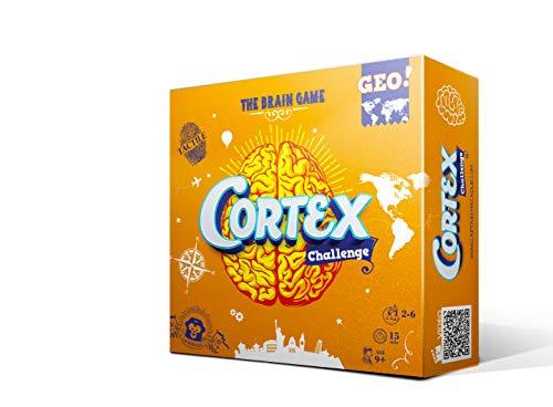 Asmodee- Cortex Geo, Juego de Mesa (ADE0COR03ML)