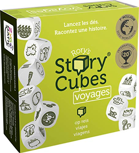 Asmodee Dados para contar Viajes Story Cubes