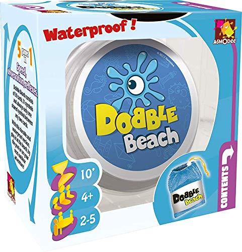 Asmodee Dobble Waterproof - Juego de cartas resistente al agua, versiones surtidos