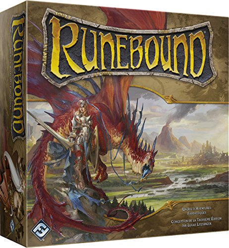 Asmodee–ffrun01–Runebound tercera Edition (Versión francesa)