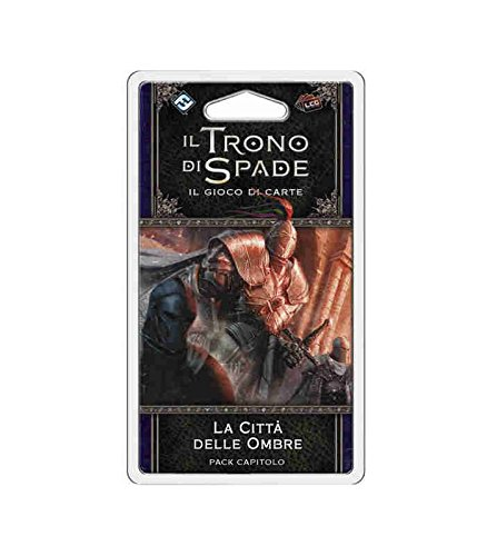 Asmodee Italia-Juego de Tronos LCG 2nd Ed. expansión La Ciudad de las sombras juego de mesa, color, 9237 , color/modelo surtido