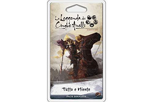 Asmodee Italia - La leyenda de los cinco anillos LCG expansión todo y nada Living Card Game, color, 9117 , color/modelo surtido