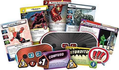 Asmodee Italia - Marvel Champions: El juego de cartas, color, 9330 , color/modelo surtido