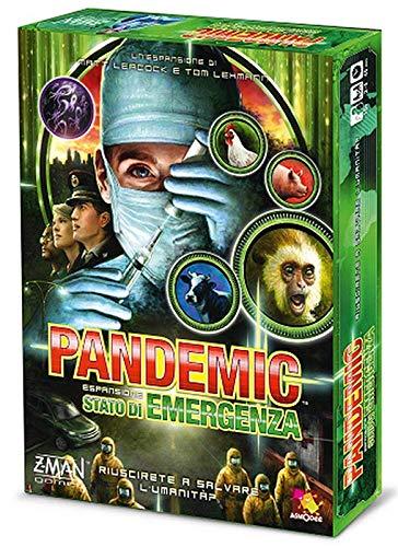 Asmodee Italia Pandemic Estado de Emergencia Juego de Mesa, Color Verde, zmg71103it