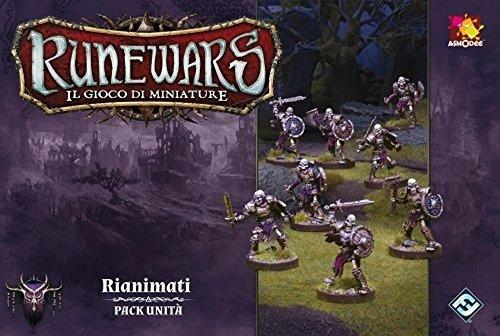 Asmodee Italia - Runewars El Juego de miniaturas expansión reanimados, Color, 9712