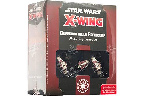 Asmodee Italia - Star Wars X-Wing Guardianes de la República, Color 9957