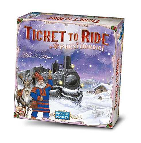 Asmodee Italia Ticket To Ride Países Nórdicos Edición Italiana, 8512