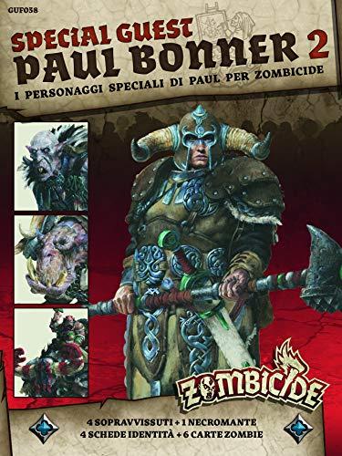 Asmodee Italia - Zombicide Green Horde SGB Paul Bonner 2 expansión Juego de Mesa con espléndidas miniaturas edición en Italiano, Color, 7146