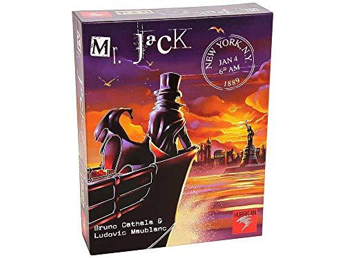 Asmodee - Mr. Jack Nueva York, juego de estrategia - Varios idiomas, incluye español (MRJ03ML)