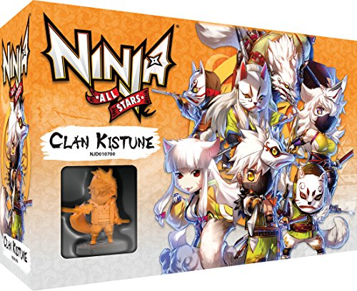 Asmodee–Ninja All-Stars: Clan Kitsune, ubinas700 , color/modelo surtido
