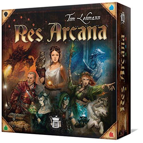 Asmodée- Res Arcana, Multicolor, Talla Única (Scgra105es)