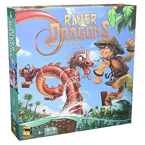 Asmodee- River Dragons (ADE0RIV01ML)