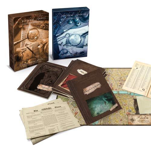 Asmodee Sherlock Holmes Consulente Investigativo - Carlton House & Queen's Park - Board Game in Italian