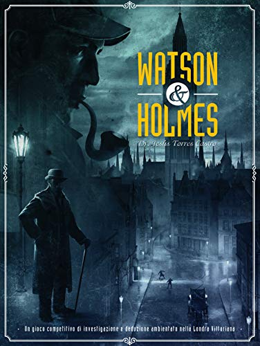Asmodee Watson & Holmes-8555 Italia, Color, SCWH01IT