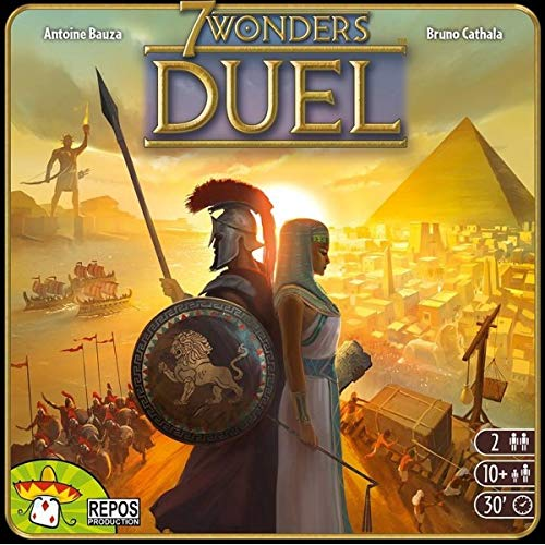 Asterion 8035 – 7 Wonders Duel, edición Italiana, Multicolor