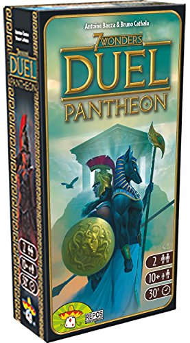 Asterion 8037 – 7 Wonders Duel Pantheon, edición Italiana