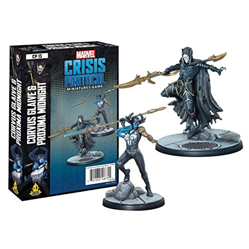 Atomic Mass Games Marvel Crisis Protocol: Corvus Glaive and Proxima Midnight (CP15) - English