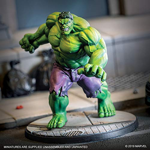 Atomic Mass- Marvel Crisis Protocol Hulk Character Inglés, Color (Fantasy Flight Games CP04EN)