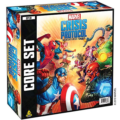 Atomic Mass- Marvel Crisis Protocol Miniatures Game Core Inglés, Color (Fantasy Flight Games CP01EN)