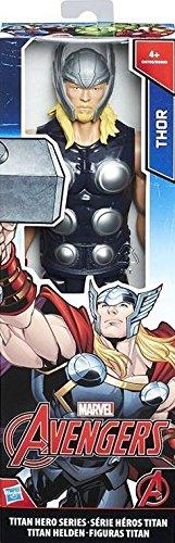 Avengers Avengers-C0758 Figura Thor Titán, Multicolor, 30 cm (Hasbro C0758ES0)