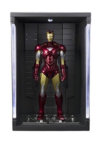 BANDAI-Iron Man MK Vi y Set Hall de Armaduras, Figura de (BAN14345)