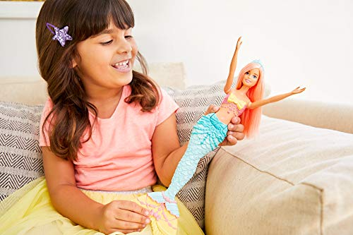Barbie Dreamtopia - Muñeca Sirena con pelo naranja (Mattel FXT11) , color/modelo surtido