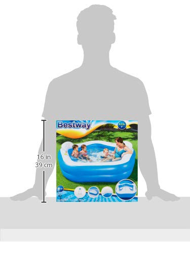 Bestway 54153 - Piscina Hinchable Infantil Family Fun 213x207x69 cm