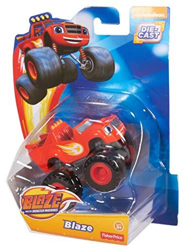 Blaze y los Monster Machines Monstruos Blaze y los Monster, Color Rojo, Miscelanea (Mattel CGF21)