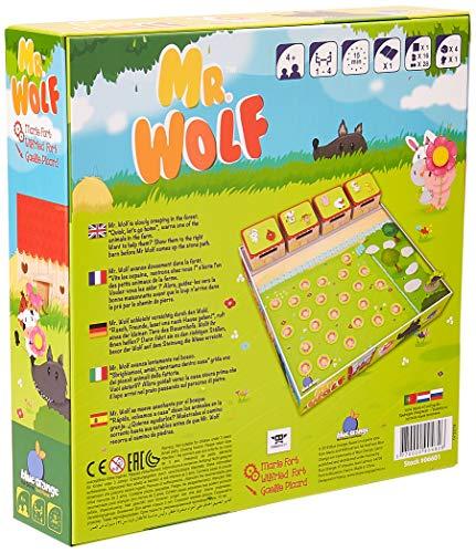 Blue Orange MRWOLF - Juego de mesa para niños, varios colores , color/modelo surtido