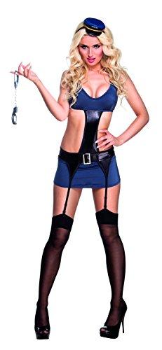 Boland 85506 - traje adulto Policía Abierto por la noche, trajes para adultos