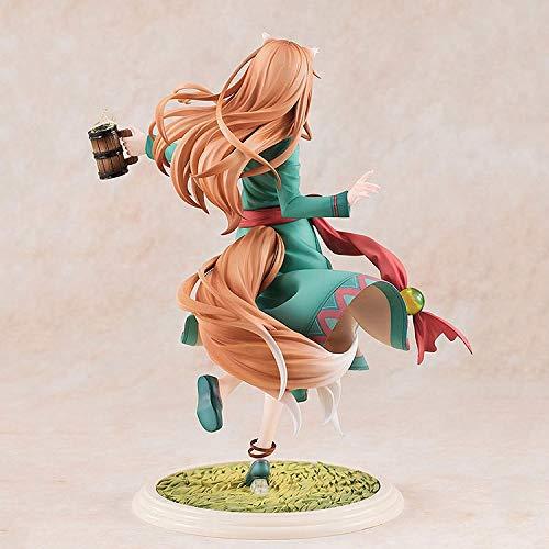 Bonmin 18 cm Colección Figura de acción Spice Girl y el Lobo Atractivo Holo 10a edición del Aniversario Animado japonés Figura Adulta Modelo de Juguete