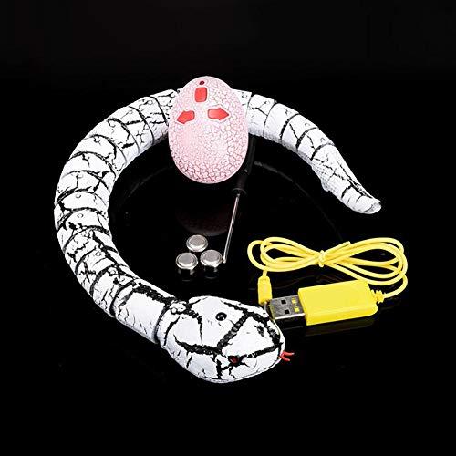 BonTime Falsa Serpiente infrarrojo Control Remoto Falso Serpiente niños Animal Truco RC Juguete