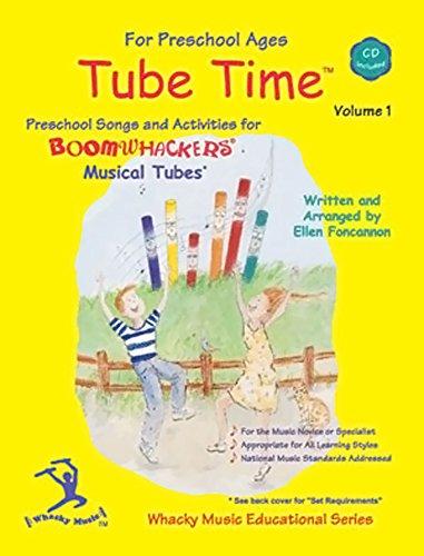 Boomwhackers ETM1 Tube Tiempo de CD Volumen 1