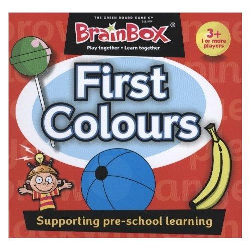 Brain Box- First Colours, juego de mesa, Multicolor (BrainBox G0990070) , color/modelo surtido