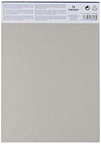 Canson Imagine, Bloc Papel de Dibujo, A4-21 x 29.7 cm, Blanco
