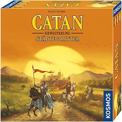 Catan - Erweiterung Städte & Ritter: Für 3 - 4 Spieler ab 12 Jahren