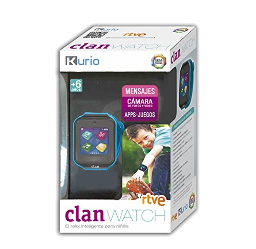 Cefa Toys Clan Smartwatch, Color Azul, Talla única (109)