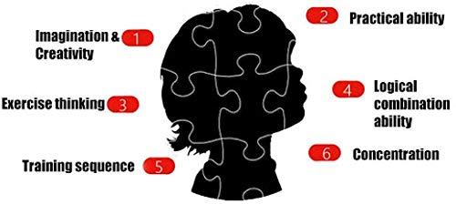CHANGWW Adulto 1000 Pieza de Puzzle, Rompecabezas Castillo altiplano Arte, Juego Educativo para Adultos y niñosRegalo