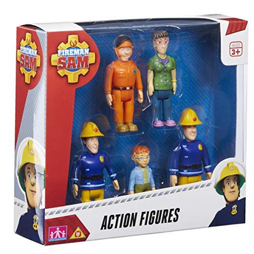 Character Options Fireman Sam Figuras de acción