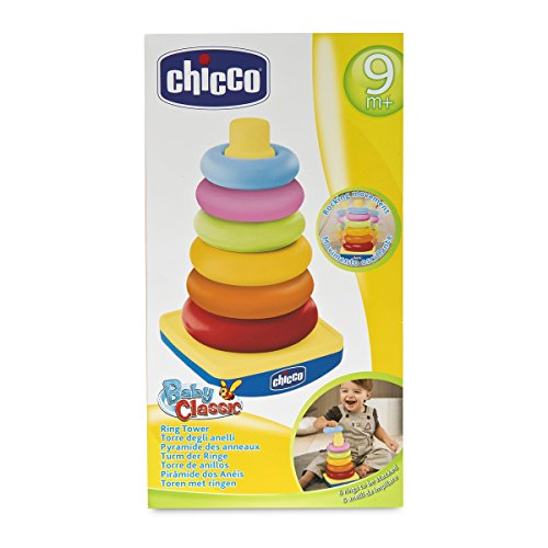 Chicco-00.007423.500.000 Big & Small Primeros Juguetes, Multicolor (Boppy 00007423500000)