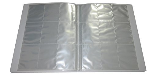Clear Plastic A4 Trading Card Binder - 26 Pages 234 Slots - Pokemon / Yu-Gi-Oh / MTG / Match Attax