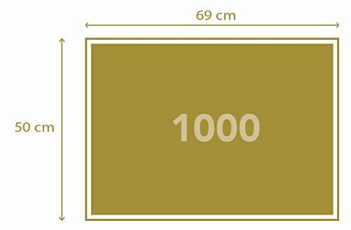 Clementoni - Puzzle Grandes museos 1000 Piezas Klimt: El Beso (31442)